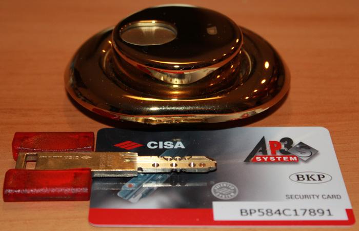 Chiavi cilindro europeo cisa ap3 tessera sostituzione for Cilindro europeo cisa