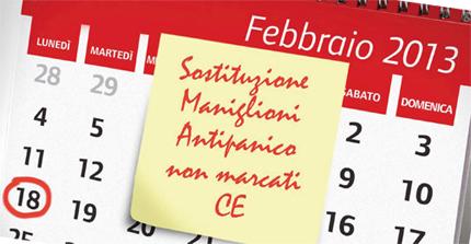 CISA Maniglioni Antipanico CE immagine